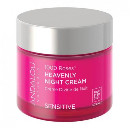 1000 Roses Heavenly Night Cream, 50g, Andalou