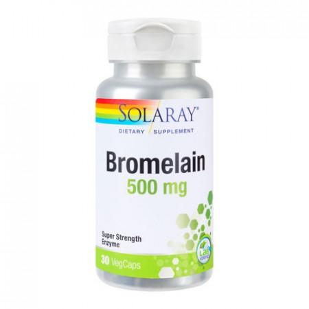 Bromelain 500mg, 30cps, Solaray