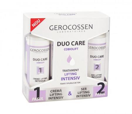 Duo Care tratament lifting intensiv, crema 30 ml + ser 30 ml, Gerocossen