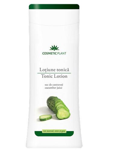 Lotiune tonica cu suc de castraveti, 200 ml, Cosmetic Plant