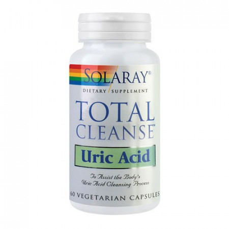 Total Cleanse Uric Acid, 60cps, Solaray