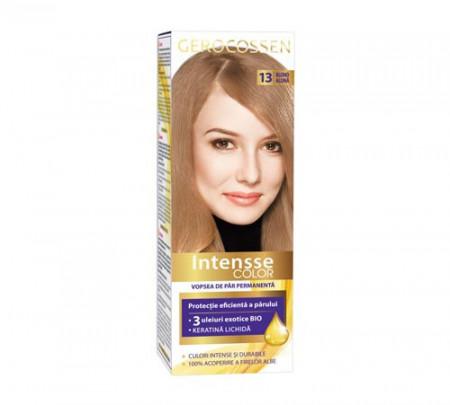 Vopsea de par permanenta Intensse Color 13 Blond Aluna,50 ml, Gerocossen