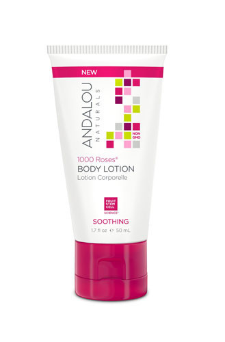 1000 Roses Soothing Body Lotion, 50ml, Andalou