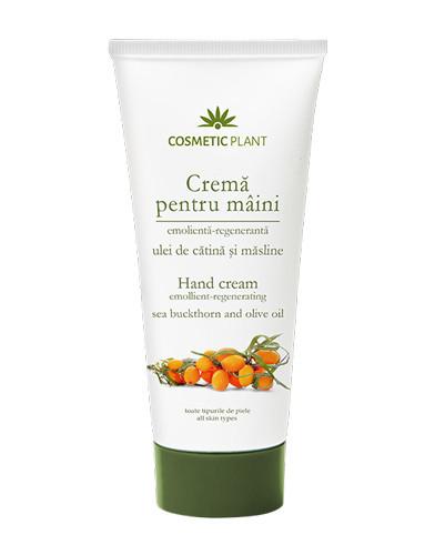Crema maini catina & masline, 100ml, Cosmetic Plant