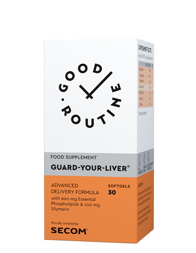 Guard-Your-Liver, 30cps gelatinoase moi, Good Routine