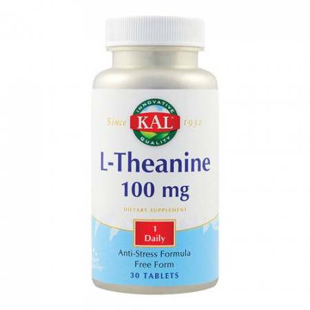 L-Theanine 100mg, 30tab. ActivTab, Kal