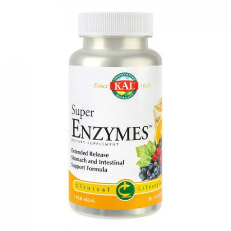 Super Enzymes, 30cps, Kal