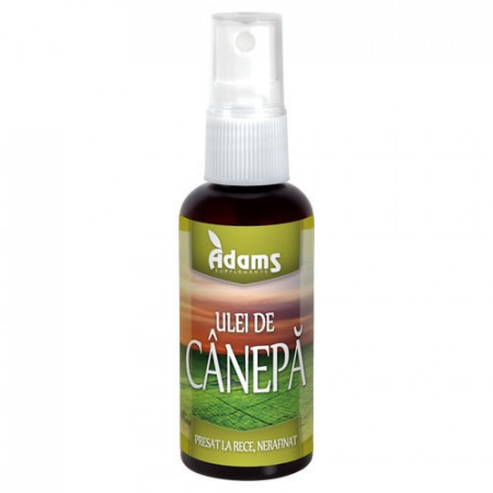 Ulei de Canepa, 50ml, Adams Vision