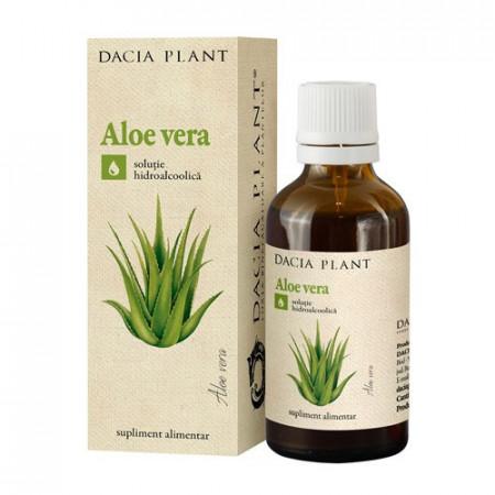 Aloe Vera tinctura, 50ml, Dacia Plant