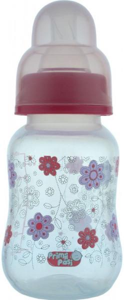 Biberon polipropilena usor de tinut decorat, 125 ml(R0141), Primii Pasi