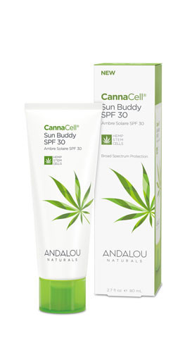 CannaCell Sun Buddy SPF 30, 80ml, Andalou