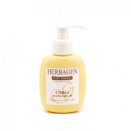 Crema de maini cu citrice, glicerina & ulei de masline, 100g, Herbagen