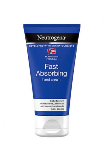 Neutrogena, crema de maini absorbtie rapida, 75ml, Johnson&Johnson