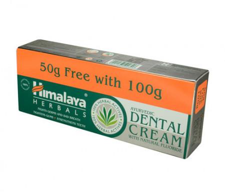 Pasta de dinti Dental Cream, 100g+50g, Himalaya Care