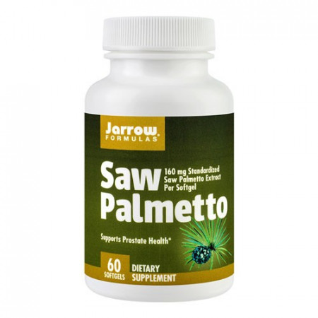 Saw Palmetto 160mg, 60cps, Jarrow Formulas