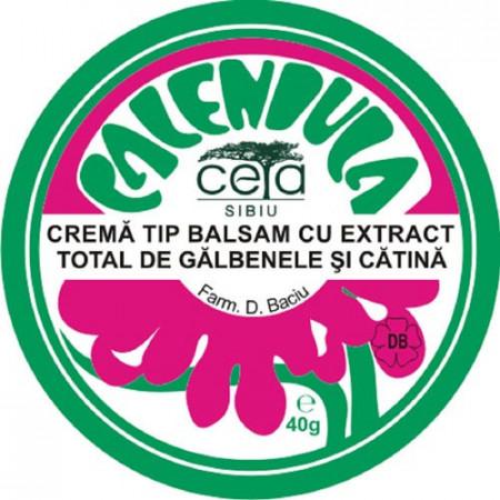 Unguent cu extract de galbenele și catina, 40g, Ceta Sibiu