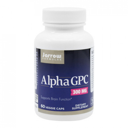 Alpha GPC 300mg, 60cps, Jarrow Formulas