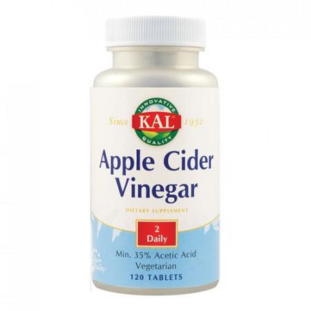 Apple Cider Vinegar (Otet de mere) 500mg, 120cps, Kal