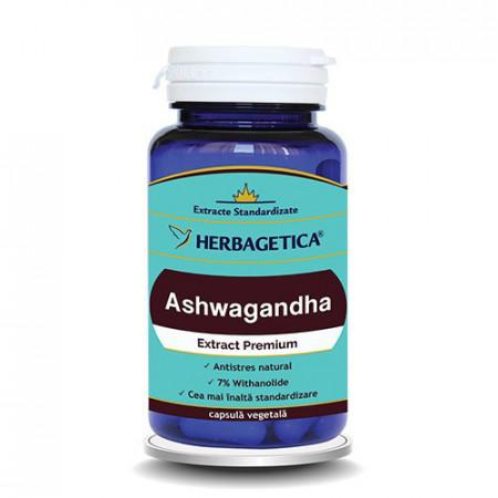 Ashwagandha, 60cps, Herbagetica