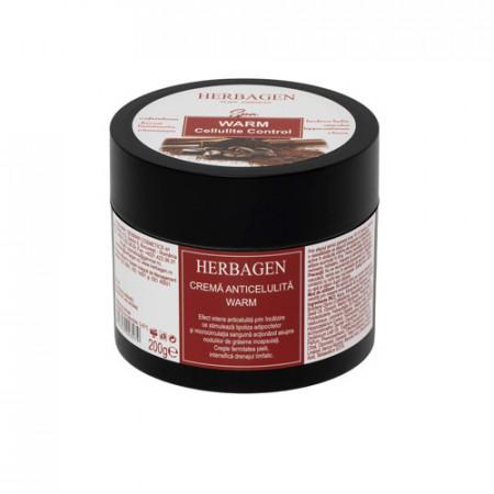 Crema anticelulita WARM, 200ml, Herbagen