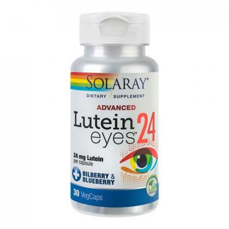 Lutein Eyes Advanced, 30cps, Solaray