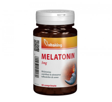 Melatonina 5mg, 60cps, Vitaking