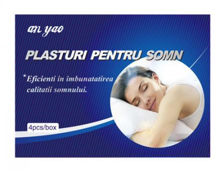 Plasturi pentru somn, 8X8cm, 4buc, Naturalia Diet