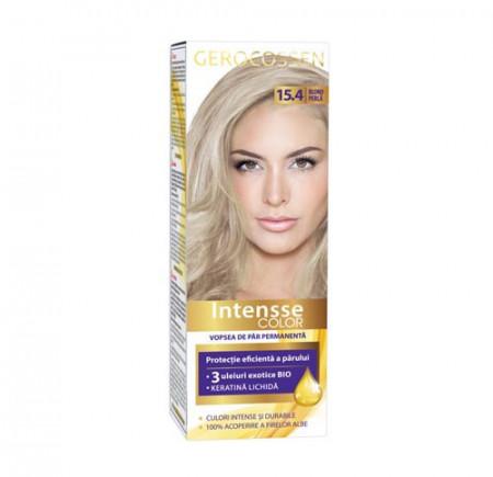 Vopsea de par permanenta Intensse Color 15.4 Blond Perla, 50 ml, Gerocossen