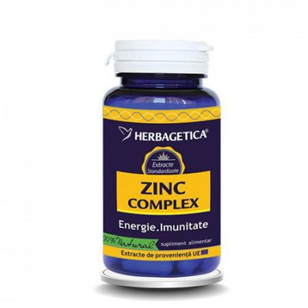 Zinc Complex, 120cps, Herbagetica