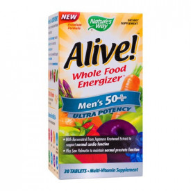 Alive! Men's 50+ Ultra, 30cps, Nature's Way