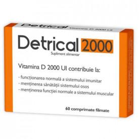Detrical vitamina D3 2000UI, 60cps, Zdrovit