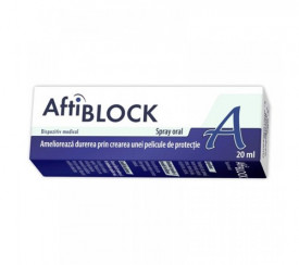 Aftiblock spray, 20ml, Zdrovit