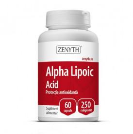Alpha Lipoic Acid, 60cps, Zenyth Pharmaceuticals
