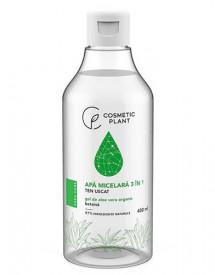 Apa micelara 3 în 1 cu gel de aloe vera organic & betaina, 400ml, Cosmetic Plant