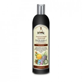 Balsam siberian fortifiant cu extract de propolis si cedru, 550ml, Bunica Agafia