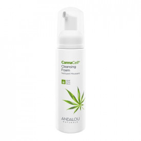 CannaCell Cleansing Foam, 163 ml, Andalou