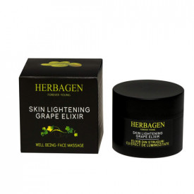 Crema elixir din struguri efect de luminozitate, 50g, Herbagen