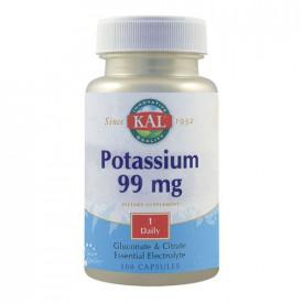 Potassium 99mg, 100cps, Kal