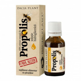 Propolis tinctura fara alcool(picurator), 20ml, Dacia Plant