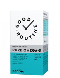 Pure Omega-3, 60cps gelatinoase moi, Good Routine