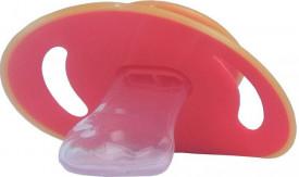 Suzeta silicon ortodontica contur rotunjit, 6L+, Primii Pasi