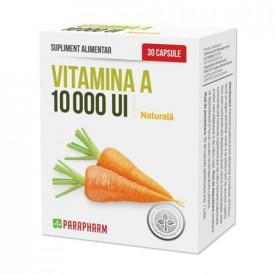 Vitamina A 10000UI, 30cps, Quantum Pharm