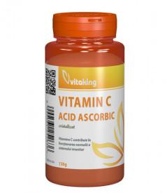 Vitamina C (acid ascorbic) cristalizata, 150gr, Vitaking