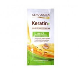 Keratin+ masca restructuranta tratament intensiv, 15 ml, Gerocossen