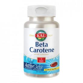 Beta Carotene, 50cps(active gels), Kal