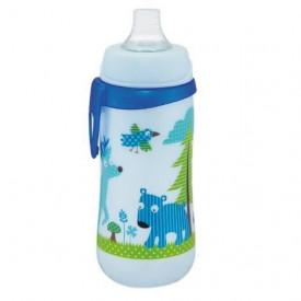 Cana First Cup Boy PP 330 ml, cu clip de prindere, 12+ luni, nip 35049, Abi Solutions