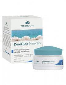 Crema de noapte pentru fermitate Dead Sea minerals, 50ml, Cosmetic Plant