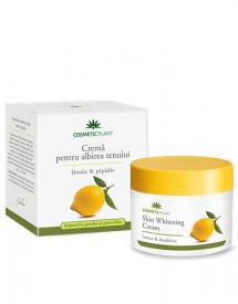 Crema pentru albirea tenului cu lamaie&papadie, 50ml, Cosmetic Plant