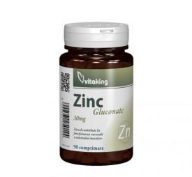 Gluconat de Zinc 25mg, 90cps, Vitaking