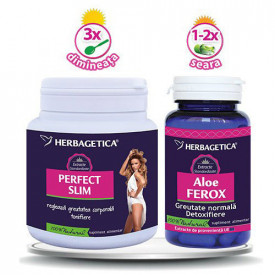 Perfect Slim, 210g & Aloe ferox, 30cps, Herbagetica